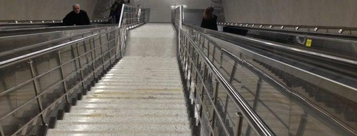 Hatay Metro İstasyonu is one of Pınar: сохраненные места.