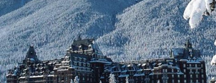 The Fairmont Banff Springs Hotel is one of Jasper & Banff List.
