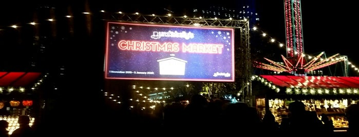 Southbank Centre Winter Market is one of London.