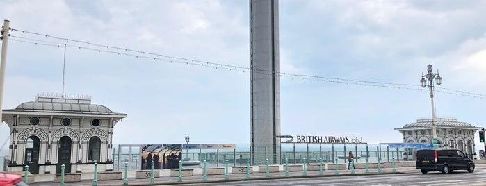 British Airways i360 is one of สถานที่ที่ 「 SAL 」 ถูกใจ.