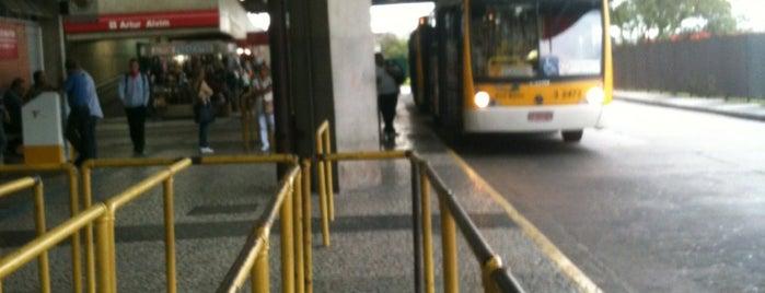 Terminal Artur Alvim is one of Locais curtidos por Cledson #timbetalab SDV.