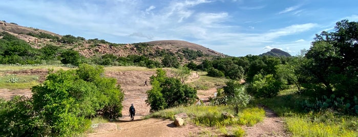 The Summit Trail at Enchanted Rock is one of Georgetown tx.