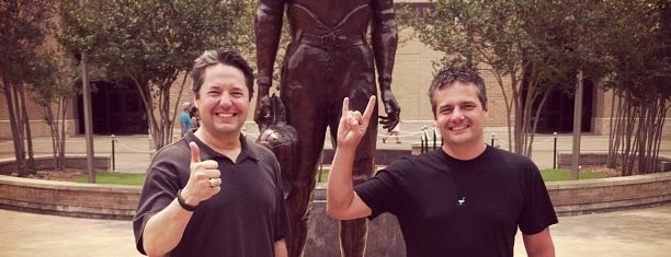 12th Man Statue is one of Aggie Gameday Activites.