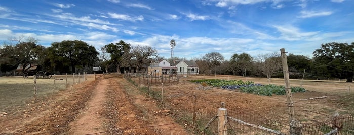 Sauer-Beckman Living History Farm is one of Austin.