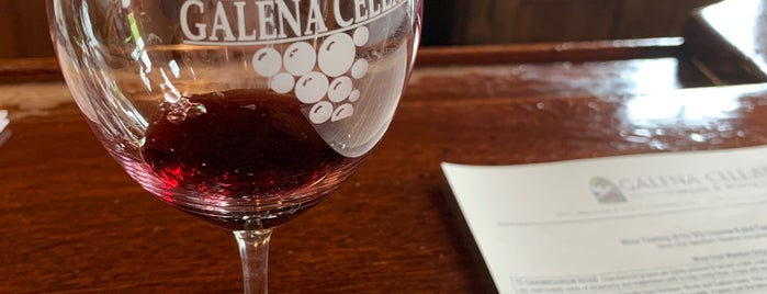 Galena Cellars Winery & Vineyard is one of Galena To Do.