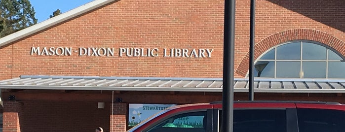 Mason Dixon Library is one of Libraries in York County.