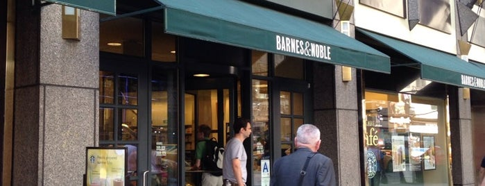 Barnes & Noble is one of NY.