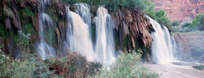 Fiftyfoot Falls is one of Supai, AZ.