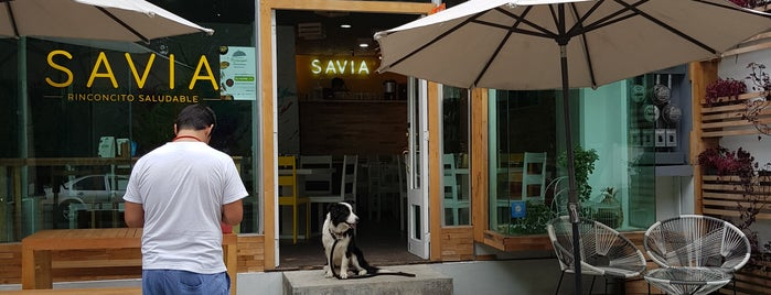 Savia is one of To try.