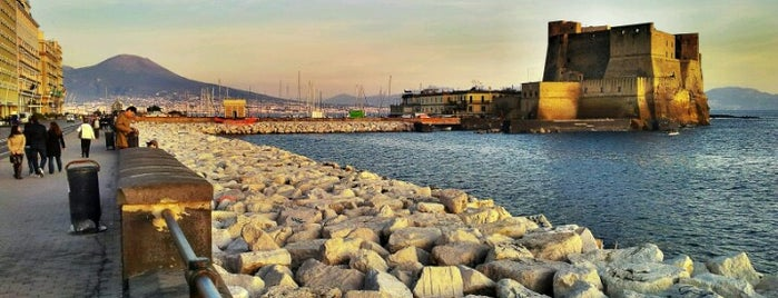 Lungomare di Napoli is one of Historic Naples.