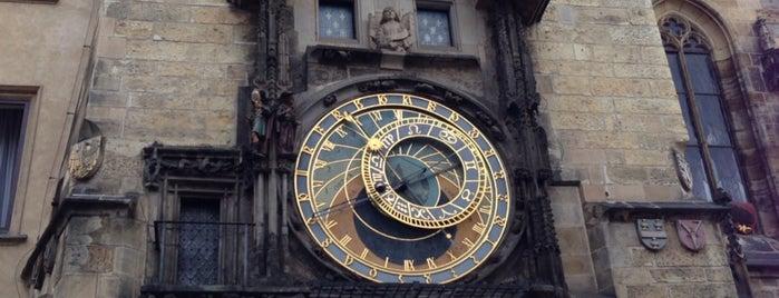 Reloj Astronómico de Praga is one of Lugares favoritos de Amit.