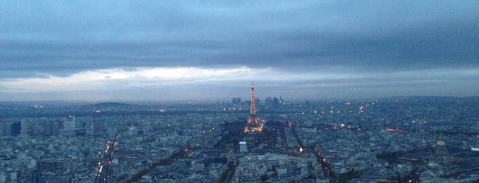 Observatoire Panoramique de la Tour Montparnasse is one of Tempat yang Disukai Amit.