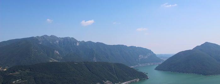 Monte San Salvatore is one of Tempat yang Disukai Amit.