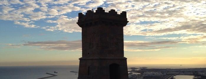 Castillo de Montjuic is one of Tempat yang Disukai Amit.