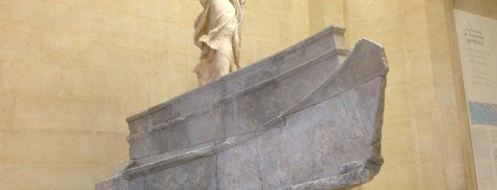 La Victoire de Samothrace is one of Lugares favoritos de Amit.