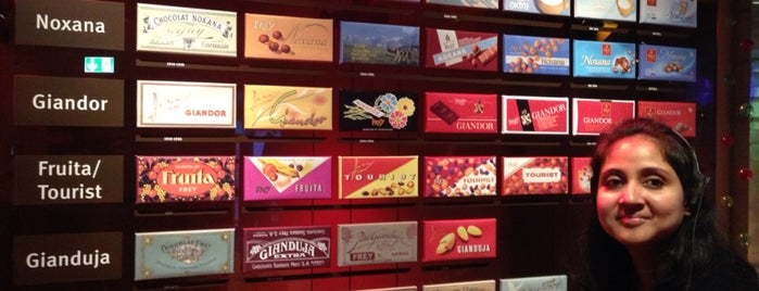 Chocolat Frey AG is one of Lugares favoritos de Amit.