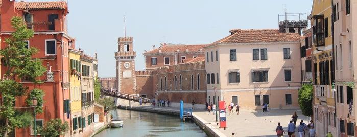 Arsenale di Venezia is one of Tempat yang Disukai Amit.