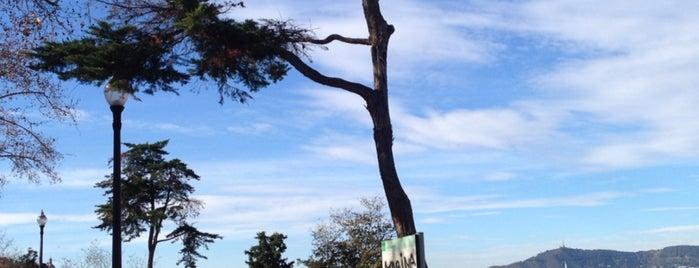 Jardins del Mirador de l'Alcalde is one of Tempat yang Disukai Amit.