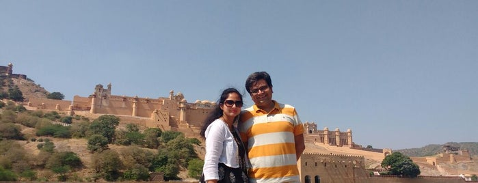 Amer Fort is one of Lugares favoritos de Amit.