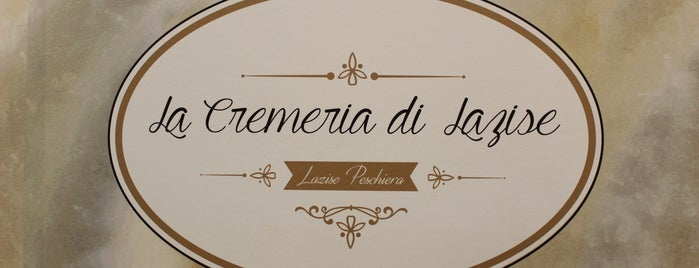 La Cremeria di Lazise is one of Tempat yang Disukai Amit.