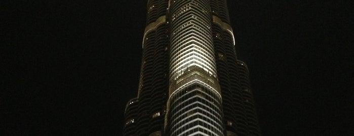 Burj Khalifa is one of Lugares favoritos de Amit.