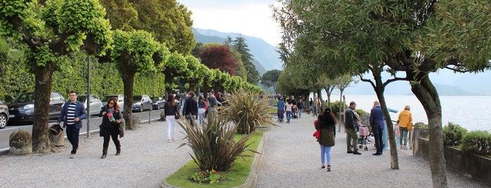 Lungolago Bellagio is one of Tempat yang Disukai Amit.