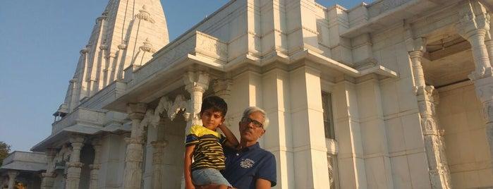 Birla Temple is one of Lugares favoritos de Amit.