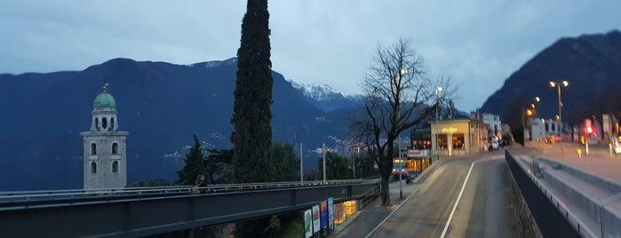 Stazione FLP Lugano is one of Posti che sono piaciuti a Amit.