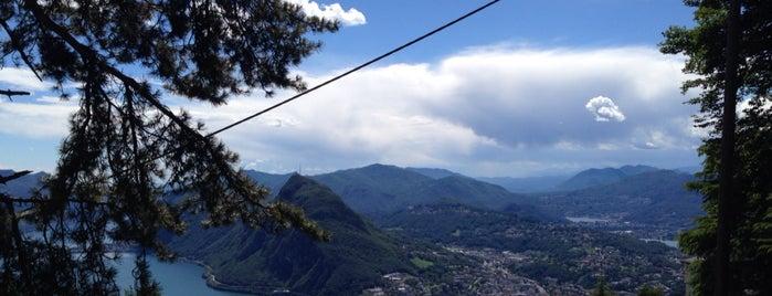 Monte Brè is one of Tempat yang Disukai Amit.