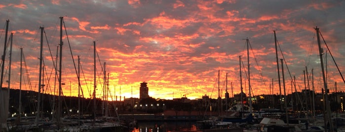 OneOcean Port Vell Barcelona is one of Tempat yang Disukai Amit.