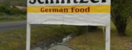 Schnitzel is one of Texas Highways Top Mom & Pop Stops.