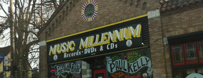 Music Millennium is one of Portland Faves.