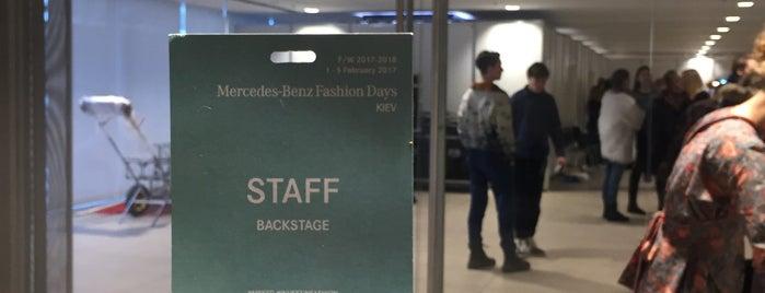 Mercedes-Benz Fashion Days  Kiev is one of Locais curtidos por Anton.