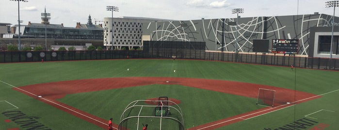 Marge Schott Stadium is one of UC Campus Tour.