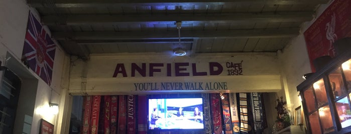 Anfield Cafe is one of Orte, die Chuck gefallen.