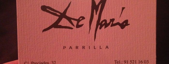 La Parrilla de Mario is one of Comer en Madrid.