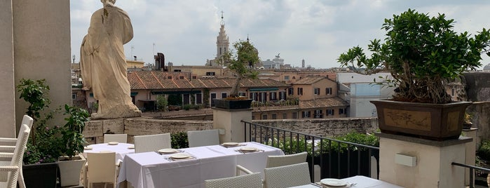 Terrazza Borromini is one of Aperitivi/brunch Roma.