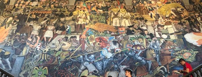 Murales Diego Rivera Palacio Nacional is one of Mexico City.