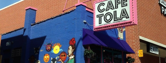 Café Tola is one of Chicago food.