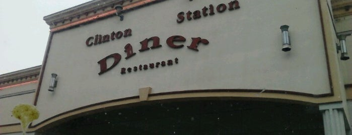 Clinton Station Diner is one of Gさんの保存済みスポット.