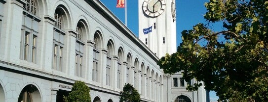Ferry Building is one of Exploring San Francisco.