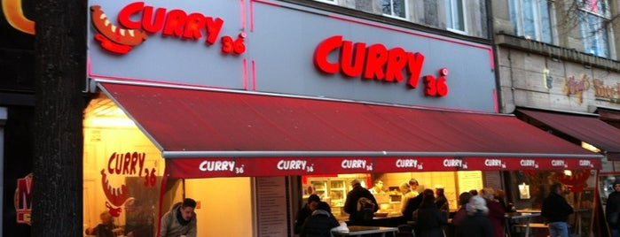 Curry 36 is one of Lieux qui ont plu à J..
