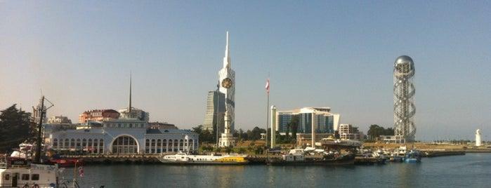 Batumi Seaport | Порт Батуми | ბათუმის პორტი is one of Tempat yang Disukai Anna.