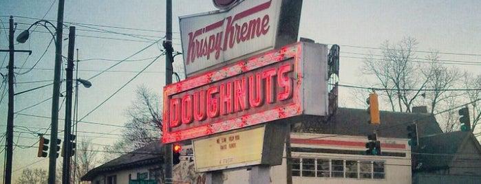 Krispy Kreme Doughnuts is one of Atlanta 2013 Tom Jones.