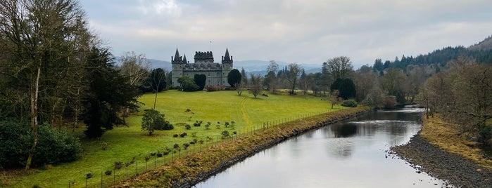 Inveraray Castle is one of Tempat yang Disukai Glenda.