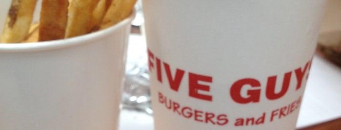 Five Guys is one of Orte, die Bayana gefallen.
