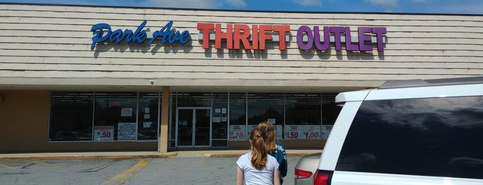 Park Avenue Thrift Store Outlet is one of Thrifting Spots in the Southeast.