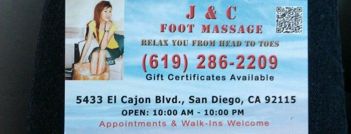 J & C Foot Massage is one of Posti che sono piaciuti a Christine.