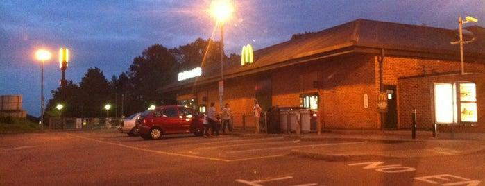 McDonald's is one of Del : понравившиеся места.
