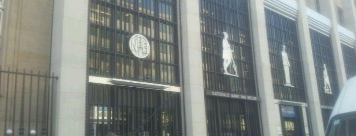 National Bank of Belgium is one of Uitstap idee.